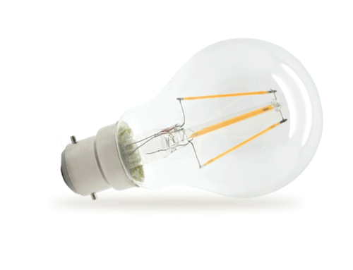 New MARK LED Dimmable Filament All-Glass Bulbs