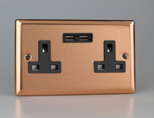 Polished Copper Switches & Sockets From Varilight