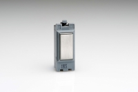 GBS Varilight Power Grid Blanking Module Brushed Steel