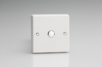 IQS001 Varilight 1 Gang,Multi-Way Touch Slave Dimmer Classic White Dimmer