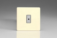 Varilight V-Pro Multi Point Remote (MPR or Eclique2) Series 1 Gang 0-100 Watts Multi Point Remote Master LED Dimmer Screwless White Chocolate
