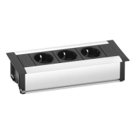 Evoline frame dock 3x UK power socket