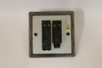 Varilight 2 Gang Comprising of 1 Intermediate (3 Way) and 1 Standard (1 or 2 Way) 10 Amp Switch Screwless Brushed Brass