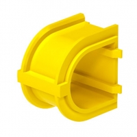 Schneider Coupler for 45mm Yellow Deep European Wall Boxes
