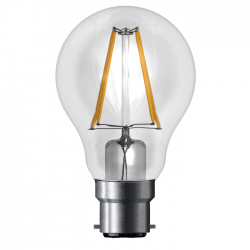 MARK LIGHTING Lamp 6W Dimmable LED GLS All Glass Bulb B22