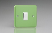 Varilight 1 Gang Intermediate (3 Way) 10 Amp Switch Classic Lily Beryl Green