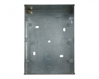 PGRIDBOX9-12 (WA518) Metal 47mm Deep Wall Box (Knock-out) For 9 or 12 Gang Power Grid Plates