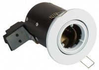 FGGWDC Fire Rated Downlight GU10 Tilt - White - Diecast
