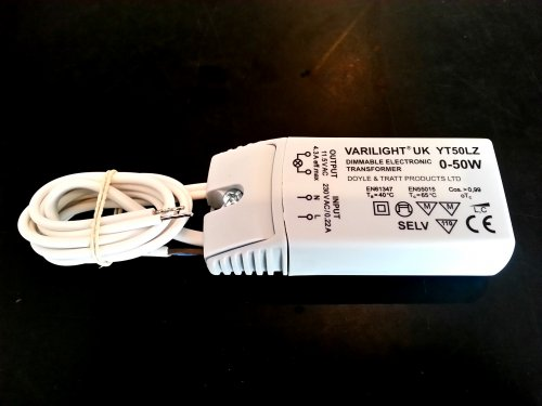 YT50LZ [YT50L] Varilight 50 watt transformer for low voltage circuits