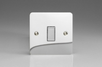 Varilight V-Pro Multi Point Tactile Touch Slave (MP Slave) Series 1 Gang Unit for use with V-Pro Multi Point Remote Master Dimmers Ultra Flat Polished Chrome
