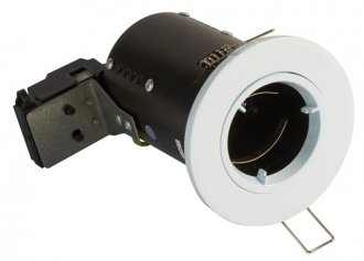 FGFWDC Fire Rated Downlight GU10 Fixed - White - Diecast