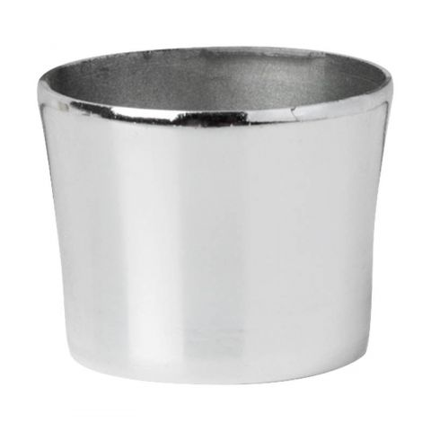 Megaman (143150) Decorative Snap-on Base Cap Silver E14/B15