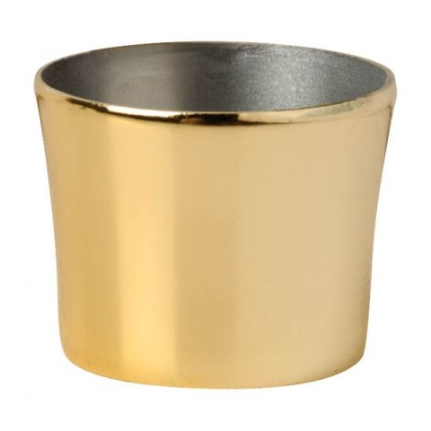 Megaman (143168) Decorative Snap-on Base Cap Gold E14/B15