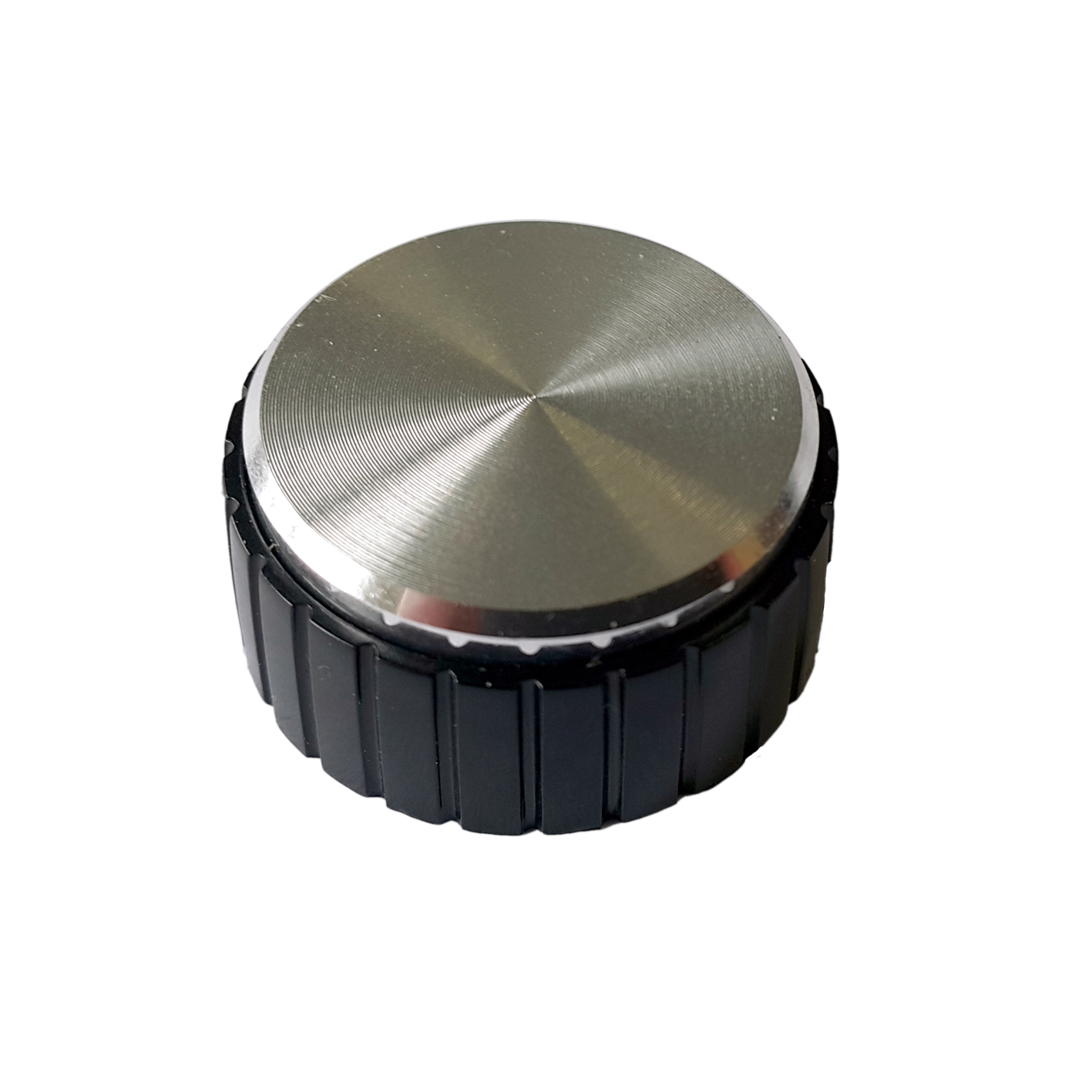 K6 Varilight Black Retro Knob Fits on Dimmers of any plate finish