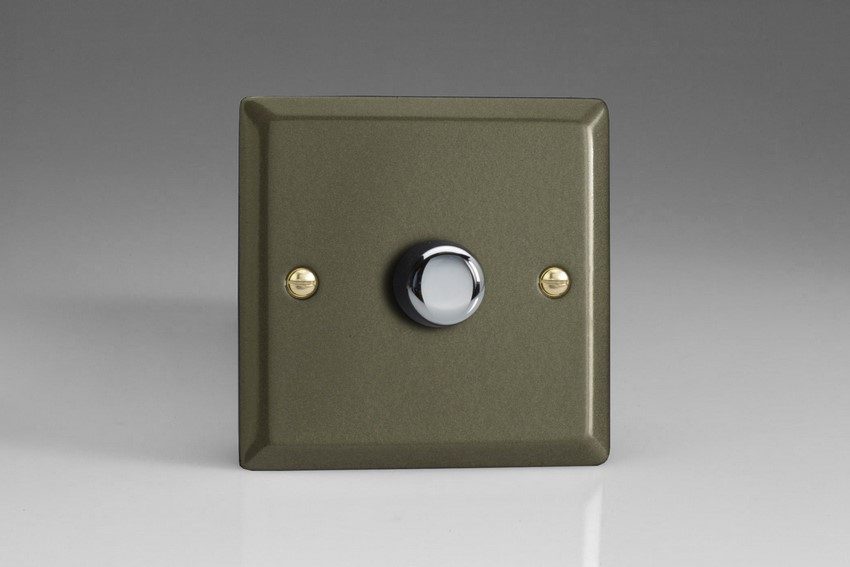 HP0-SP Varilight Non-dimming 'Dummy' Series module, 1 or 2 Way Up To 1000 Watt, this is a Bespoke item, Classic Graphite 21