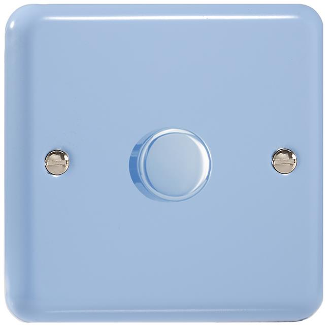 HY0.DB-B Varilight Non-dimming 'Dummy' Series module, 1 or 2 Way Up To 1000 Watt, this is a Bespoke item, Classic Duck Egg Blue