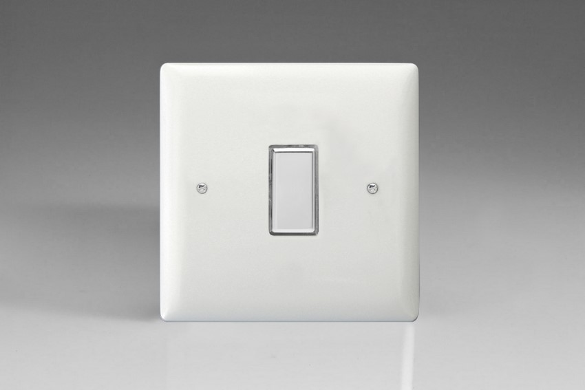 Varilight V-Pro Multi Point Touch (MPT) Series 1 Gang 0-100 Watts Multi Point Touch Master LED Dimmer