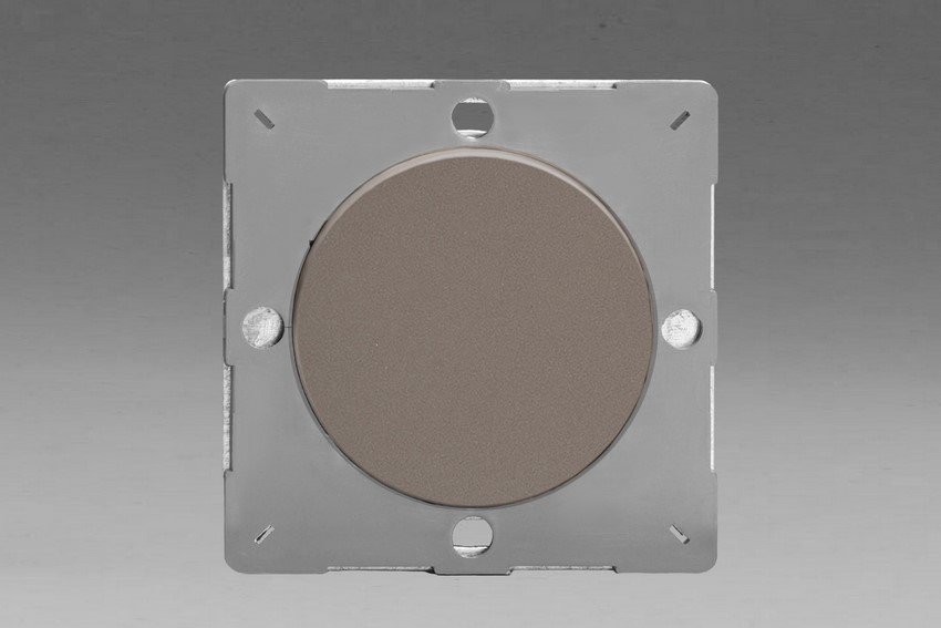 Z1EGBR-P Varilight European VariGrid 1 gang Blank Plate, for use with VariGrid Single, Double and Triple Faceplates