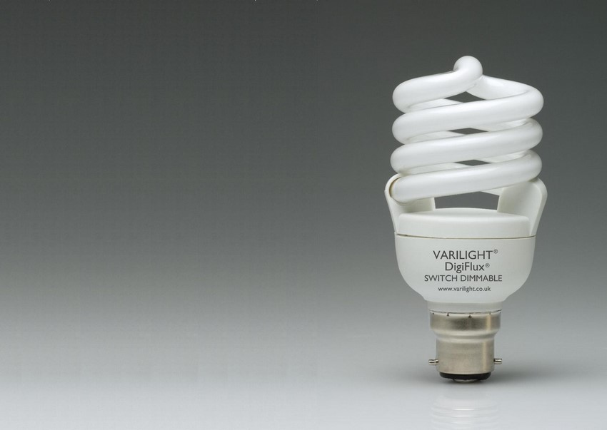 YCA20S-B22 Varilight Switch Dimmable Energy Saving Lamp with Bayonet Fitting. 1250 Lumens, equivelant to 110 Watt GLS Lamp.