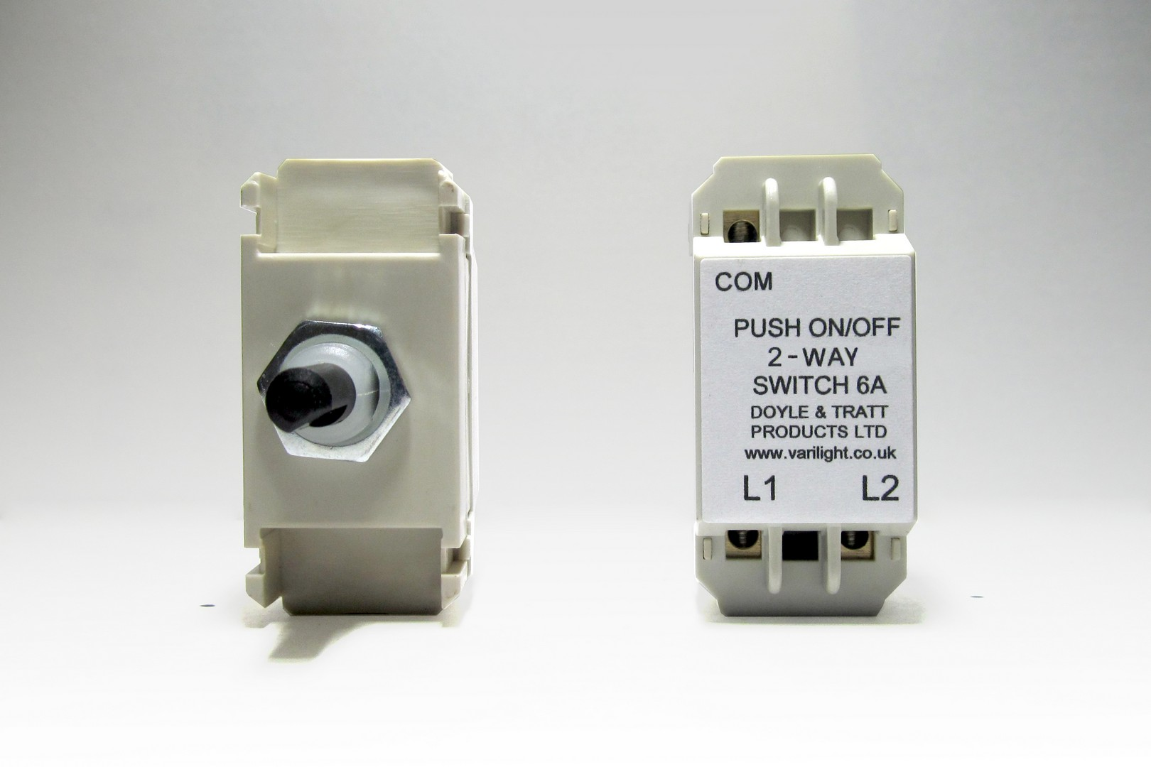 Z0H0-P Varilight Non-dimming 'Dummy' Series module, 1 or 2 Way Up To 1000 Watt Module