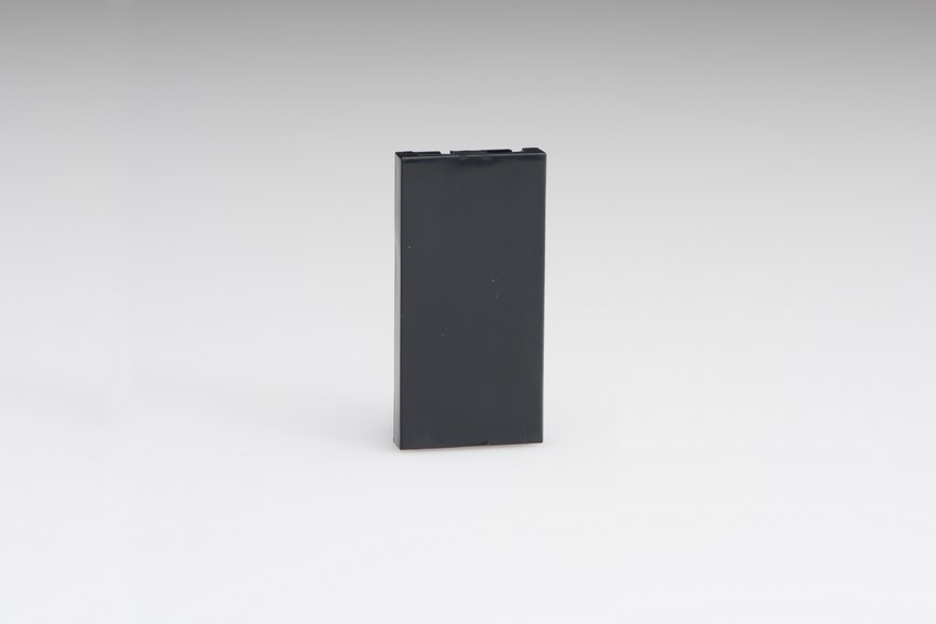 Z2GSBB Varilight Single Blank Module in Black. Use with Varilight Data Grid Plates