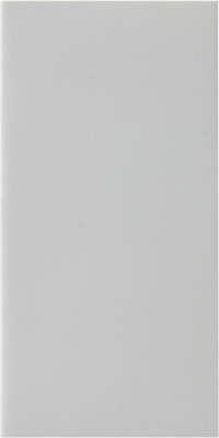 Z2GSBW Varilight Single Blank Module in White. Use with Varilight Data Grid Plates