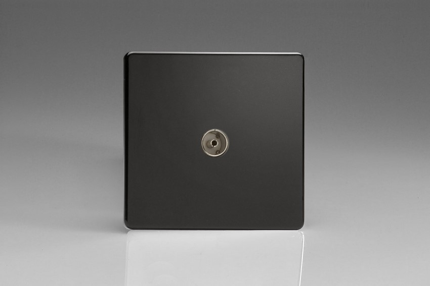 Varilight 1 Gang Co-axial TV Socket