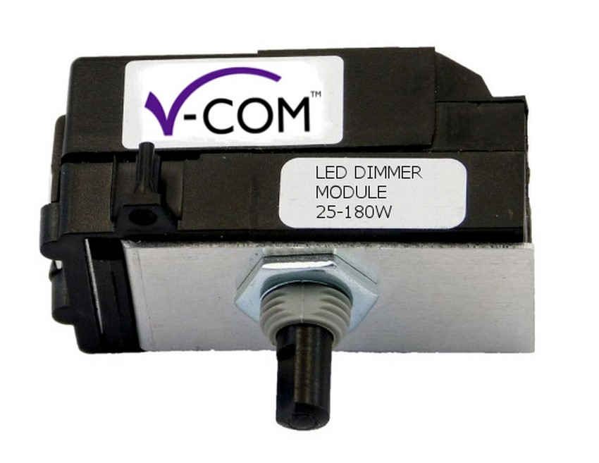 MKP180 (Z0KP180-P) Varilight V-Com Series module,1 or 2 Way 25 -180 Watt Commercial LED Dimmer Module