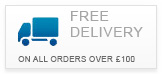 Free Delivery on all orders over 100 GBP