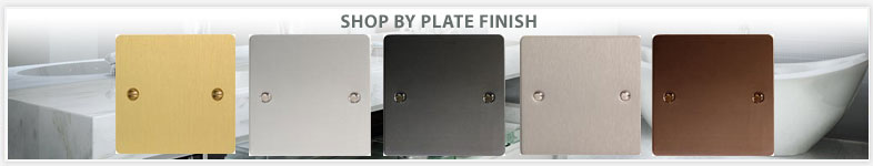 Plate finishes