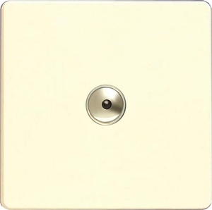 IDWI401MS Varilight 1 Gang, 1 or 2 Way or Multi-way 400 Watt Touch/Remote Master Dimmer, Dimension Screwless White Chocolate