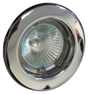 GU10 Downlight - Fixed - Chrome  (RGFC)