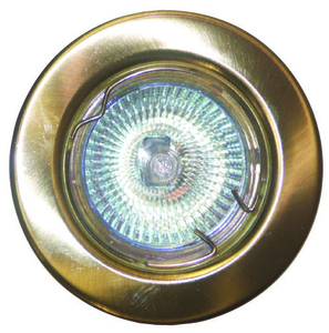 GU10 Downlight - Fixed - Brass  (RGFB)