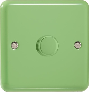 KYP401.BG  Varilight V-Com Series 1 Gang, 1 or 2 Way 40-400 Watt Commercial LED Dimmer, Classic Lily Beryl Green