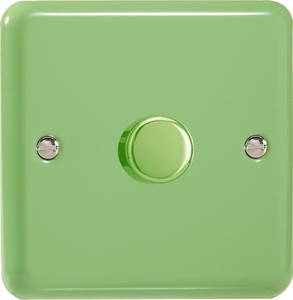 HY0.BG-B Varilight Non-dimming 'Dummy' Series module, 1 or 2 Way Up To 1000 Watt, this is a Bespoke item, Classic Beryl Green