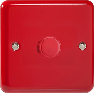 HY0.PR-B Varilight Non-dimming 'Dummy' Series module, 1 or 2 Way Up To 1000 Watt, this is a Bespoke item, Classic Pillar Box Red