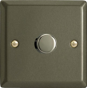 HP0-B Varilight Non-dimming 'Dummy' Series module, 1 or 2 Way Up To 1000 Watt, this is a Bespoke item, Classic Graphite 21