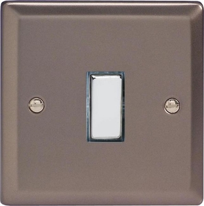 XR20D Varilight 1 Gang (Single), 1 Way 20 Amp Switch, Classic Pewter