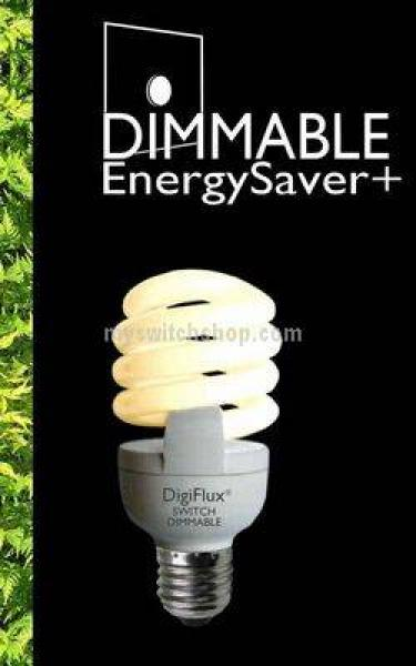 YCA20D-E27 Varilight  Dimmer Dimmable Energy Saving Lamp with Edison (Screwed) Fitting. 1250 Lumens, equivelant to 110 Watt GLS Lamp.