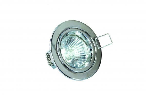 DGFC GU10 Downlight Fixed Chrome Die-cast