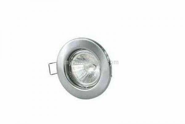 Low Voltage Downlight - Fixed - Satin Chrome  (RLFS)