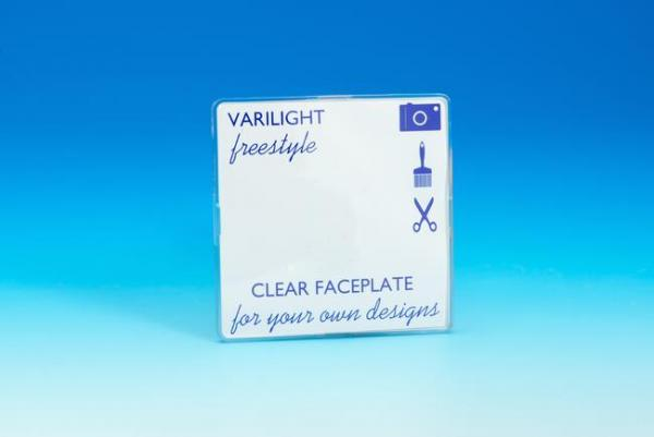 XIFSBC Varilight 1 Gang, Blank Plate, Dimension Screwless Freestyle