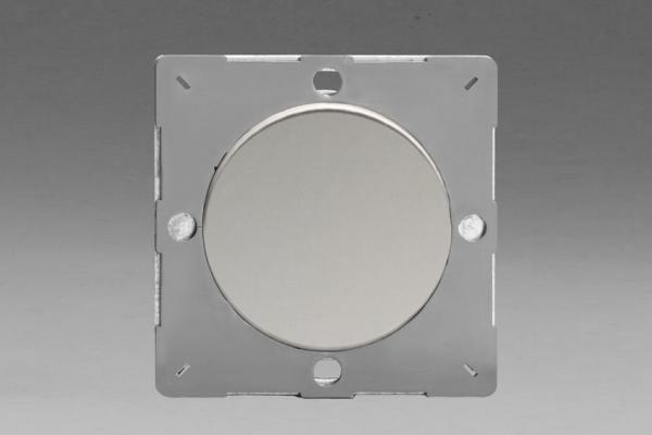 Z1EGBC-P Varilight European VariGrid 1 gang Blank Plate, for use with VariGrid Single, Double and Triple Faceplates