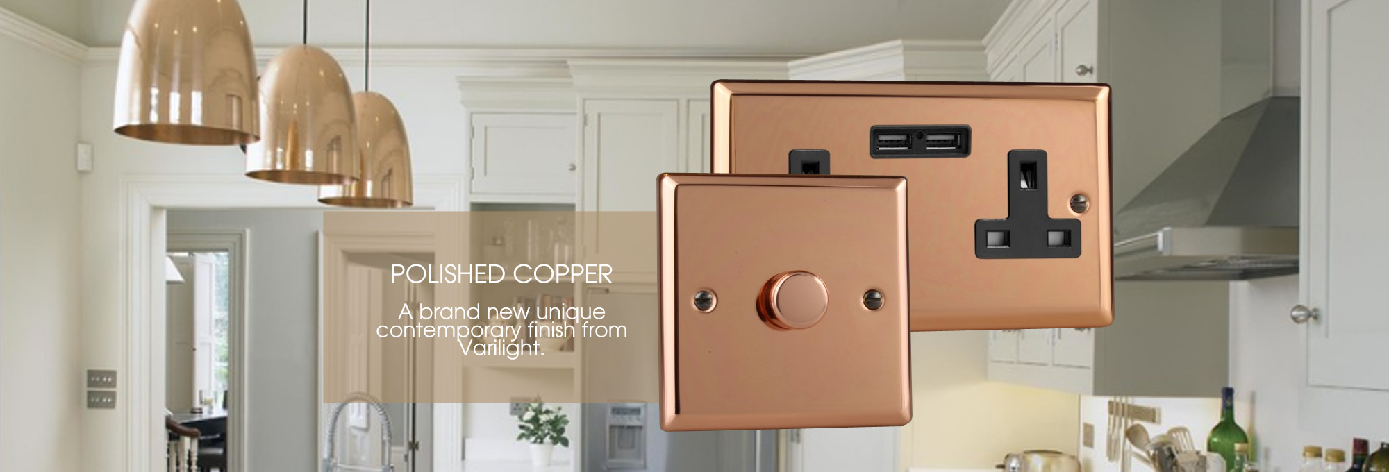 New Polished Copper Range