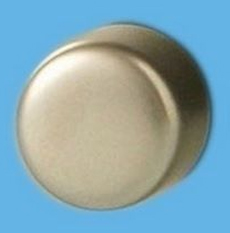 Z2SN6P Satin Chrome Knob for Dimension Screwless Dimmers